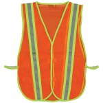 2W 8018B Economy Mesh Safety Vest Orange