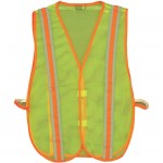 2W 8028C Economy Mesh Safety Vest Lime