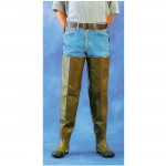 2W HW7900 Hip Waders Extra Heavy Duty Brown Plain Toe