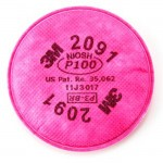 3M 2091 Filter Particulate P100
