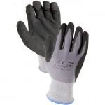 Azusa Safety N10530 15-gauge knit nylon Lycra blend Micro Foam Nitrile Coated gloves