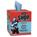 Kimberly Clark 75190 Shop Towels Blue Box