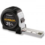 Komelon USA SM5425 25' Speed Mark Tape Measure Gripper Acrylic Coated Steel Blade 25' x 1""