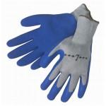 Liberty 4729Q Liner latex coated blue glove