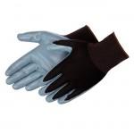Liberty F4630GCBK Foam Nitrile gray/black glove