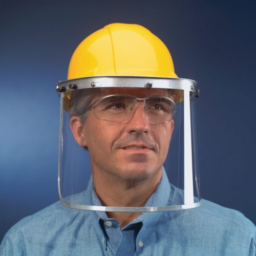 Safety 102 Aluminum Face Shield Bracket for Hardhat