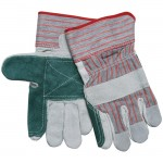 MCR Safety 1211 Double Leather Palm Work Glove with Safety Cuff