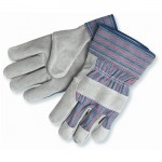 MCR Safety 1300 Leather Palm Work Glove with Safety Cuff