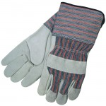 MCR Safety 1310 Leather Palm Work Glove with Gauntlet Cuff