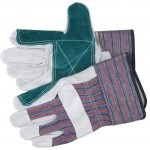 MCR Safety 1311 Double Leather Palm Work Glove with Safety Cuff