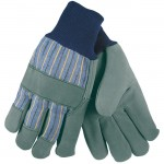 MCR Safety 1420A Leather Palm Work Glove with Knit Wrist