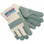 MCR Safety 1711 Big Jake Double Leather Palm Work Glove with Safety Cuff
