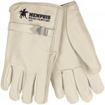 MCR Safety 3220 Road Hustler Leather Driver Work Glove