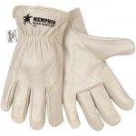 MCR Safety 3224 Road Hustler Leather Driver Work Glove, Kevlar Stitch
