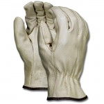 MCR Safety 3402 Pigskin Leather Driver Work Glove