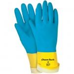 MCR Safety 5407S 28 mil Chem-Tech Neoprene on Latex Work Glove Size 7
