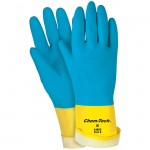 MCR Safety 5408S 28 mil Chem-Tech Neoprene on Latex Work Glove Size 8
