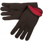 MCR Safety 7900 Jersey Work Glove with Red Fleece Lining