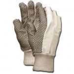 MCR Safety 8800 Heavy Dotted Cotton Canvas Work Glove 8oz. knit wrist
