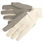 MCR Safety 8802 Heavy Dotted Cotton Canvas Work Glove 8oz. knit wrist