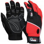 MCR Safety 924 Mechanic Work Glove with LED Lights