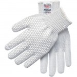 MCR Safety 9381 Steelcore II Cut Resistant Work Glove With PVC Blocks Left Hand
