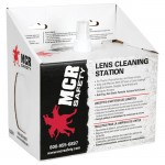 MCR Safety LCS1 Lens Cleaning Station