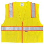MCR Safety SURVL Surveyors Safety Vest
