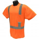 Radians ST11-2POS Class 2 Hi-Viz Safety T-Shirt with Max-Dri™ Hi-Viz Orange