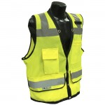 Radians SV59-2ZGD Class 2 Heavy Duty Surveyor Safety Vest Hi-Viz Green