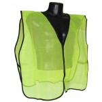 Radians SVG Non Rated Safety Vests without Tape/Stripes Mesh Hi-Viz Green