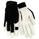 Red Steer 1523 Premium white grain goatskin palm Mechanics Glove
