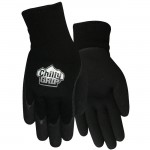 Red Steer A314 Chilly Grip  Glove Foam Latex Black