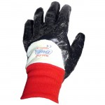 Showa Best Glove 7000R Nitri-Pro Fully Coated Nitrile Glove Rough Finish with Knit Wrist