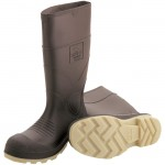 Tingley 51154 Boot PVC brown plain toe 15""