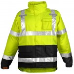 Tingley J24122 Icon Rain jacket Hi-vis yellow Class 3 waterproof breathable