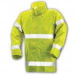 Tingley J53122 Comfort Brite Rain jacket Class 3 yellow