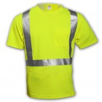 Tingley S75022 Tshirt Class 2 lime 1 pocket