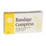 "Hart 0224 Compression Bandage 4"" w/Tape"