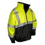 Radians SJ210-3ZGS Class 3 Three-in-One Bomber Hi-Viz Safety Jacket Hi-Viz